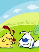 辛巴狗和哈米兔漫画