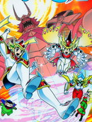 折纸战士X漫画